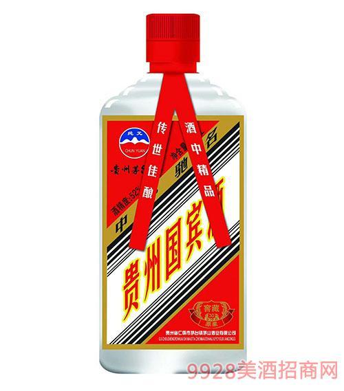 纯元贵州国宾酒52度450ml