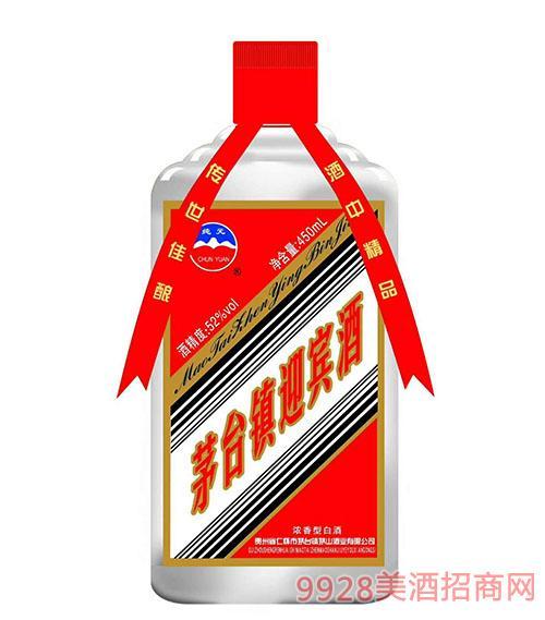 茅台镇纯元迎宾酒52度450ml
