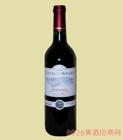 法国波尔多贝拉尔酒庄葡萄酒