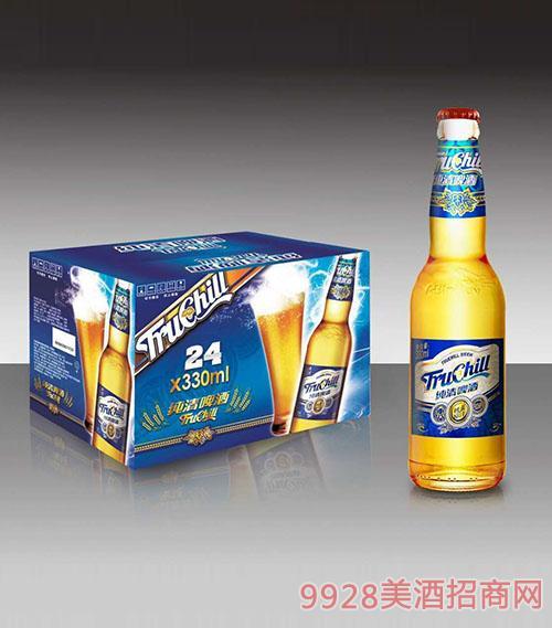 纯清啤酒330mlx24