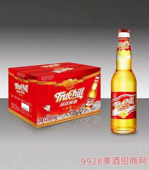 纯清至 尊啤酒330x24瓶装