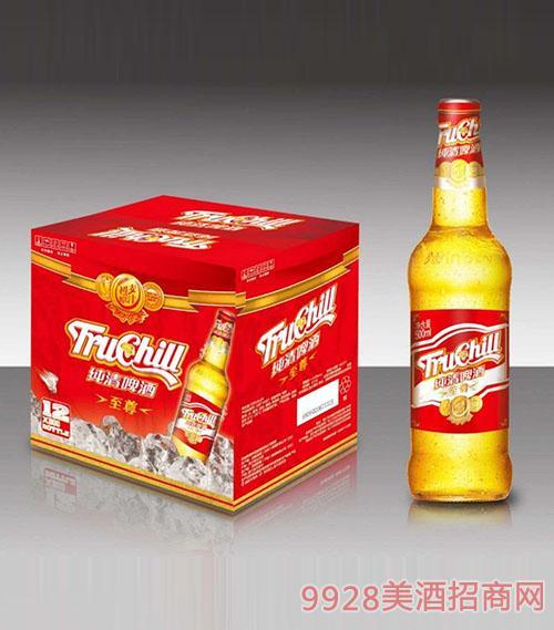 纯清至尊啤酒500mlx12