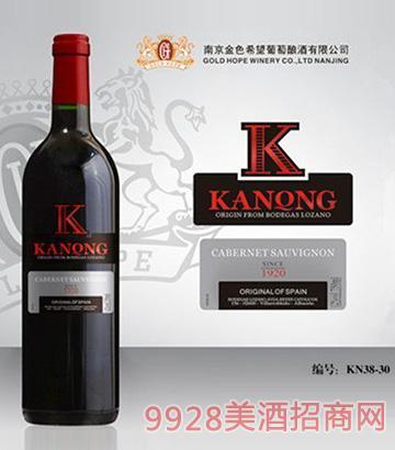 卡农葡萄酒KN38-30