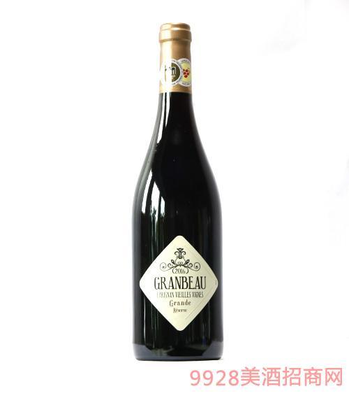 法国大宝佳丽酿老藤干红葡萄酒