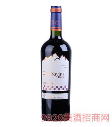 凯萨雅庄园佳美娜干红葡萄酒