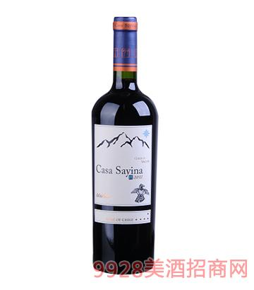 凯萨雅庄园美乐干红葡萄酒