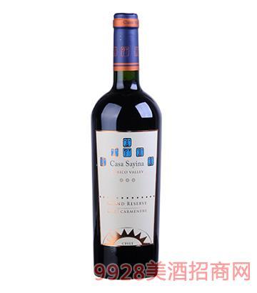 凯萨雅庄园特级陈酿佳美娜干红葡萄酒
