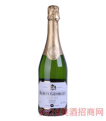 乔治男爵气泡半甜白葡萄酒