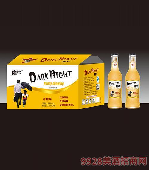 暗夜魔君鸡尾酒香橙味3.8度275mlx24