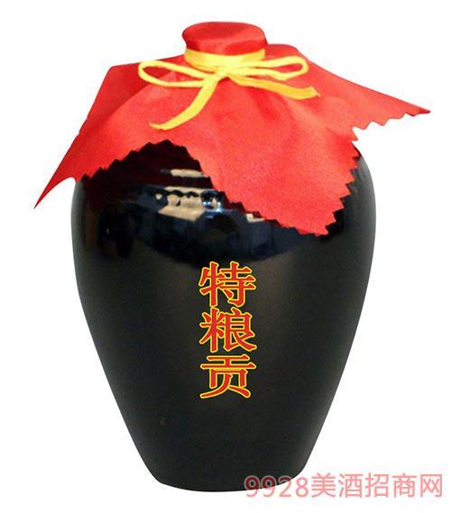万客泉特粮贡酒散装酒51L