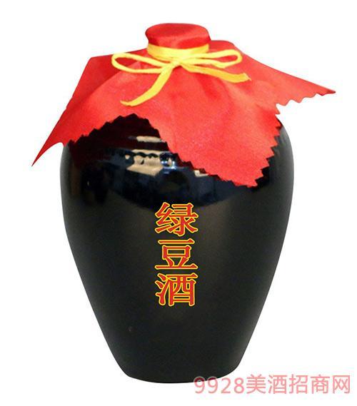 万客泉绿豆酒散装酒51L
