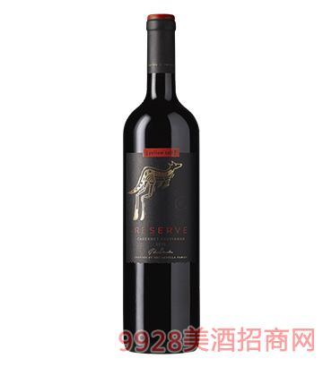 黄尾袋鼠签名版珍藏系列加本力苏维翁红葡萄酒