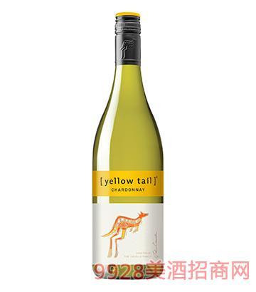 黄尾袋鼠霞多丽白葡萄酒
