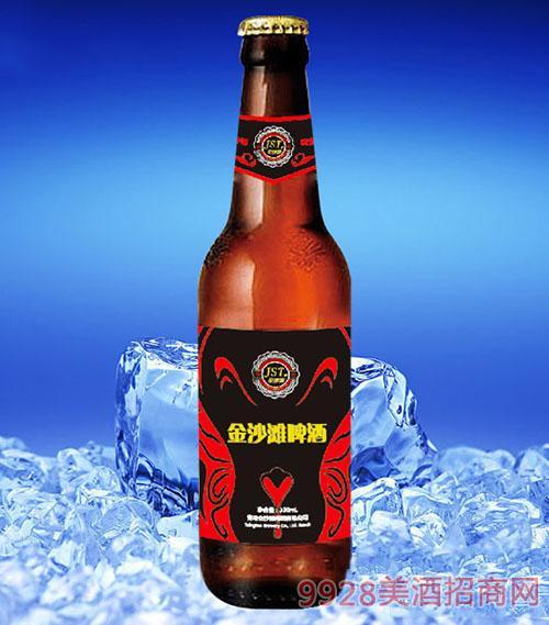 金沙滩啤酒330ml(瓶装)招商_青岛沙滩啤酒有限公司-美