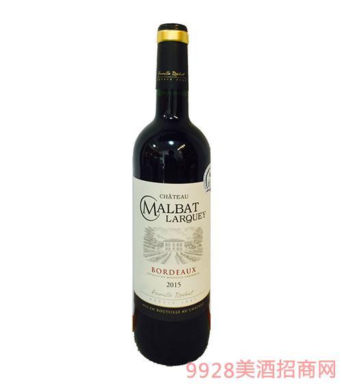 法国波尔多玛柏拉格干红葡萄酒