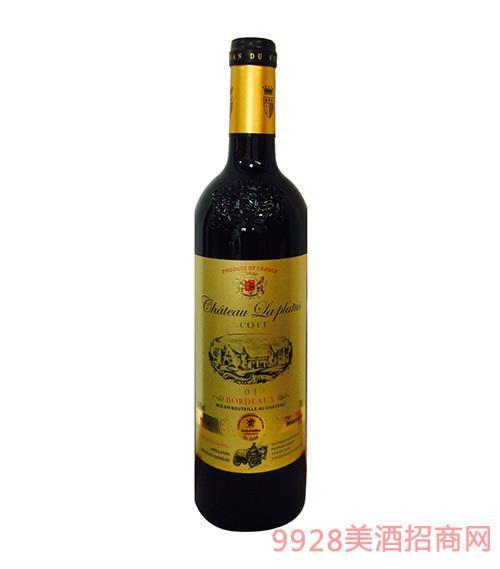 法国波尔多翠柏古堡斯歌特干红葡萄酒