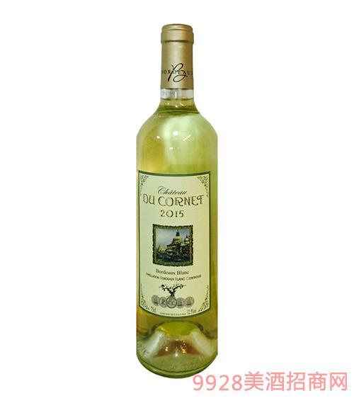 法国波尔多康耐特干白葡萄酒