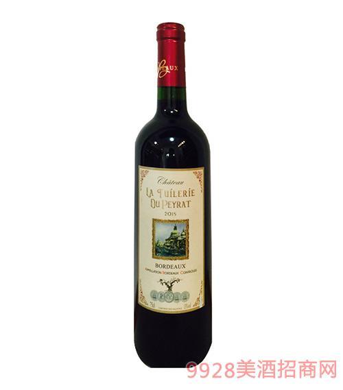 法国波尔多康耐特干红葡萄酒
