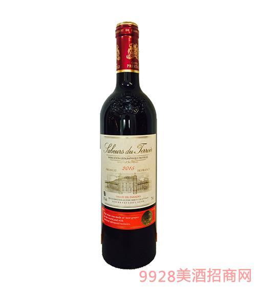 法国萨贝斯天堂古干红葡萄酒