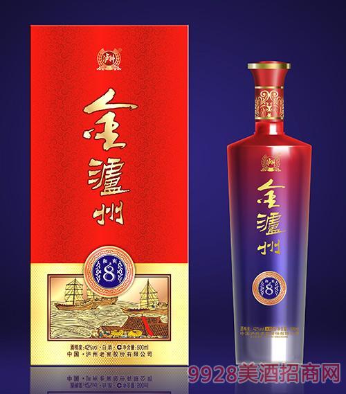 金泸州酒和爽8