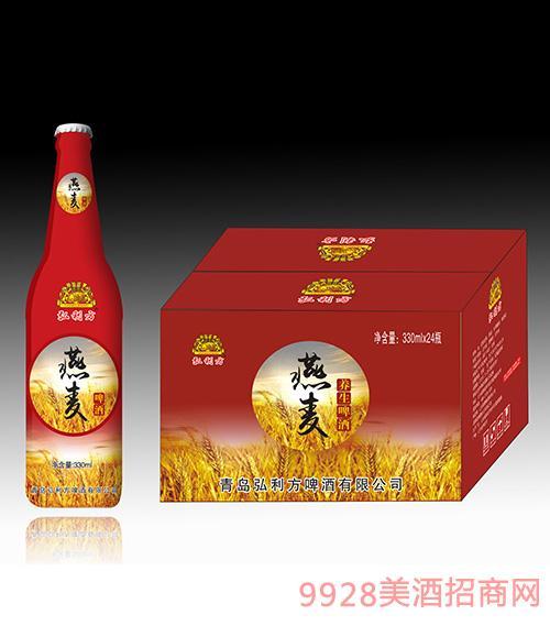 弘利方燕麦养生啤酒330mlx24瓶
