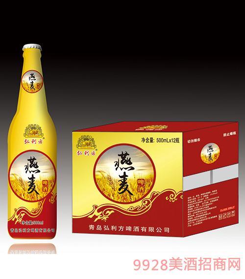 弘利方燕麦啤酒500mlx12瓶
