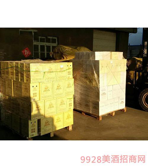 龙船将军干红葡萄酒发货