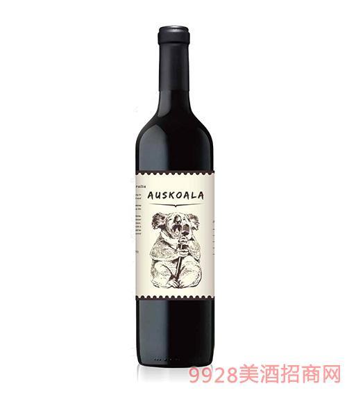 澳斯卡拉演奏家西拉干红葡萄酒