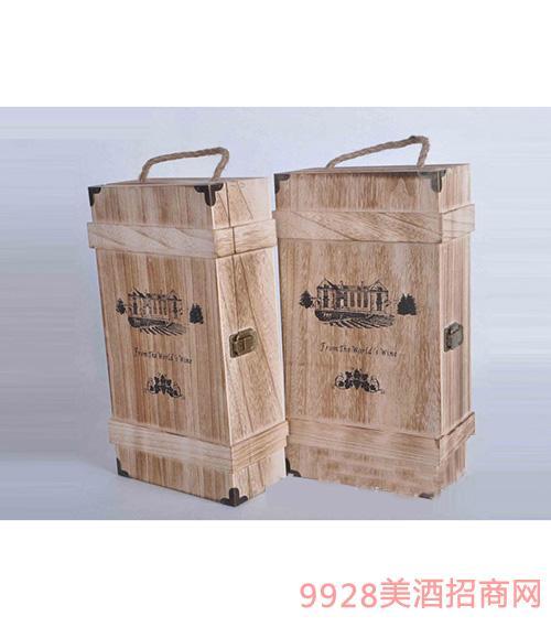 知湘颂双支木盒(桐木)
