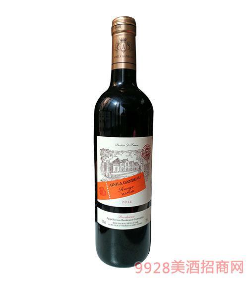 2014艾尼拉城堡干红葡萄酒