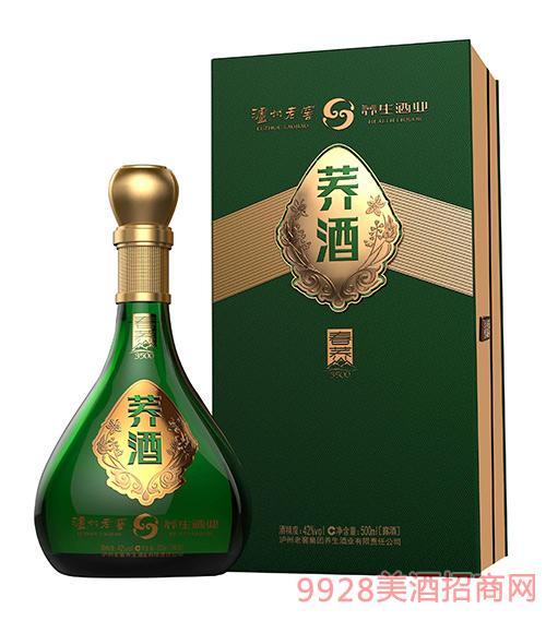 泸州老窖荞酒春荞42度52度500mlx6