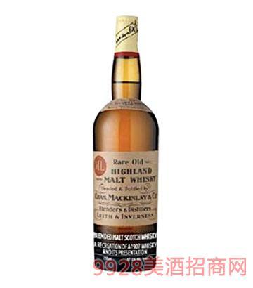 麦肯雷夏克顿苏格兰麦芽威士忌