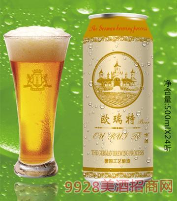 欧瑞特啤酒500ml