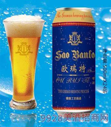 欧瑞特啤酒(蓝罐)500ml
