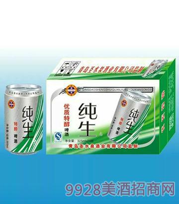 青圣纯生优质特醇啤酒