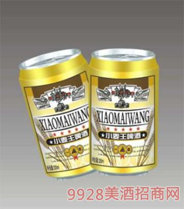 青圣小麦王啤酒罐装
