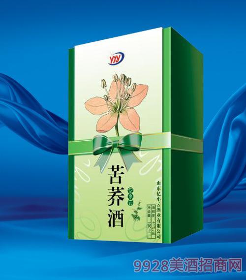 亿小云苦荞酒41度100ml绿盒