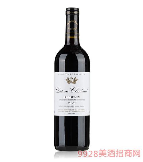 法国查德城堡干红葡萄酒