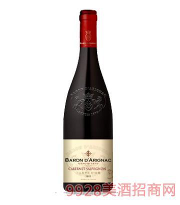 阿里那男爵赤霞珠红葡萄酒