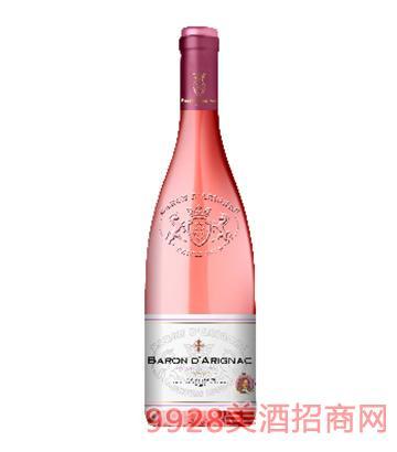 阿里那男爵欧盟桃红葡萄酒