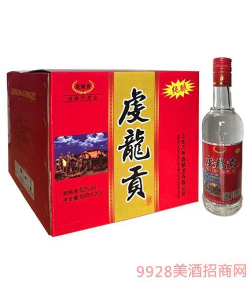 虔龙贡酒52度500mlx12