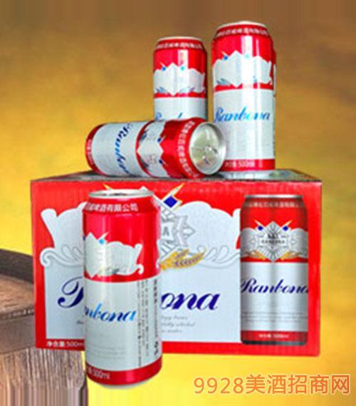 英国博伦百威啤酒500ml易拉罐装