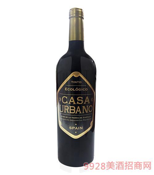 凯撒庄园有机干红葡萄酒2016