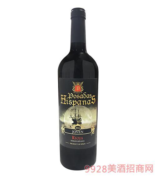 皇 家海盗干红葡萄酒2016