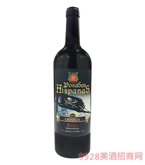 皇 家海盗佳酿葡萄酒2014