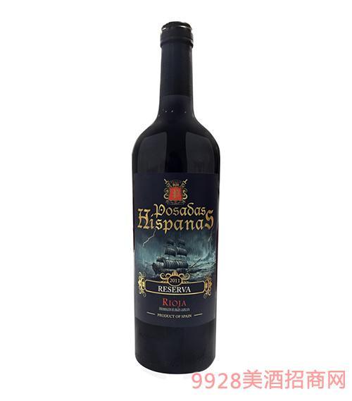 皇 家海盗珍藏葡萄酒2011