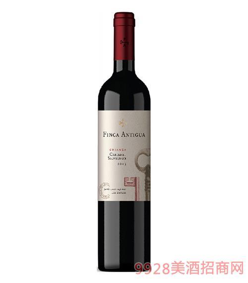 凡卡密钥赤霞珠佳酿干红葡萄酒2015