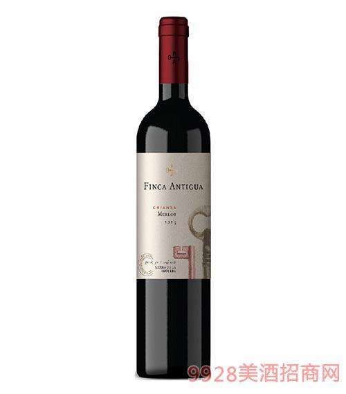 凡卡密钥梅洛佳酿干红葡萄酒2015