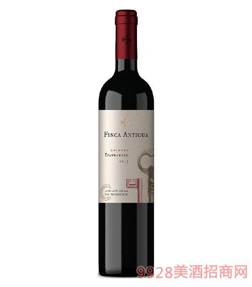 凡卡密钥添帕尼尤佳酿干红葡萄酒2014