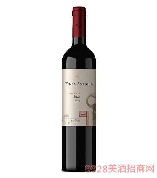 凡卡密钥西拉佳酿干红葡萄酒2015